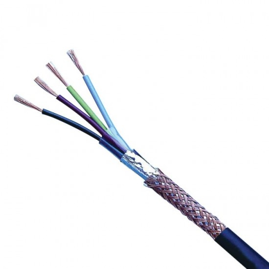 17 AWG 4 CORE SHIELDED CABLE V-ANNA