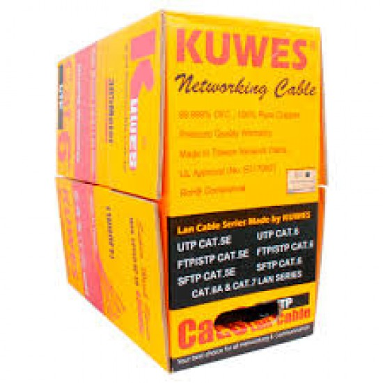 CAT6 UTP CABLE 305 METER / ROLL KUWES