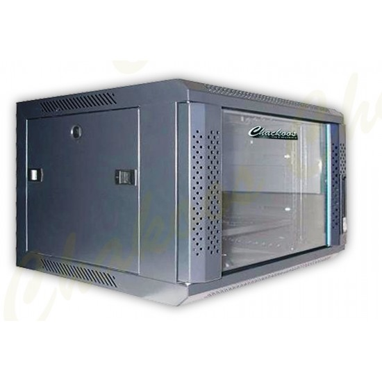 CABINET 12U  600 X 450 WALL MOUNT SINGLE  SECTION CHACKOOS
